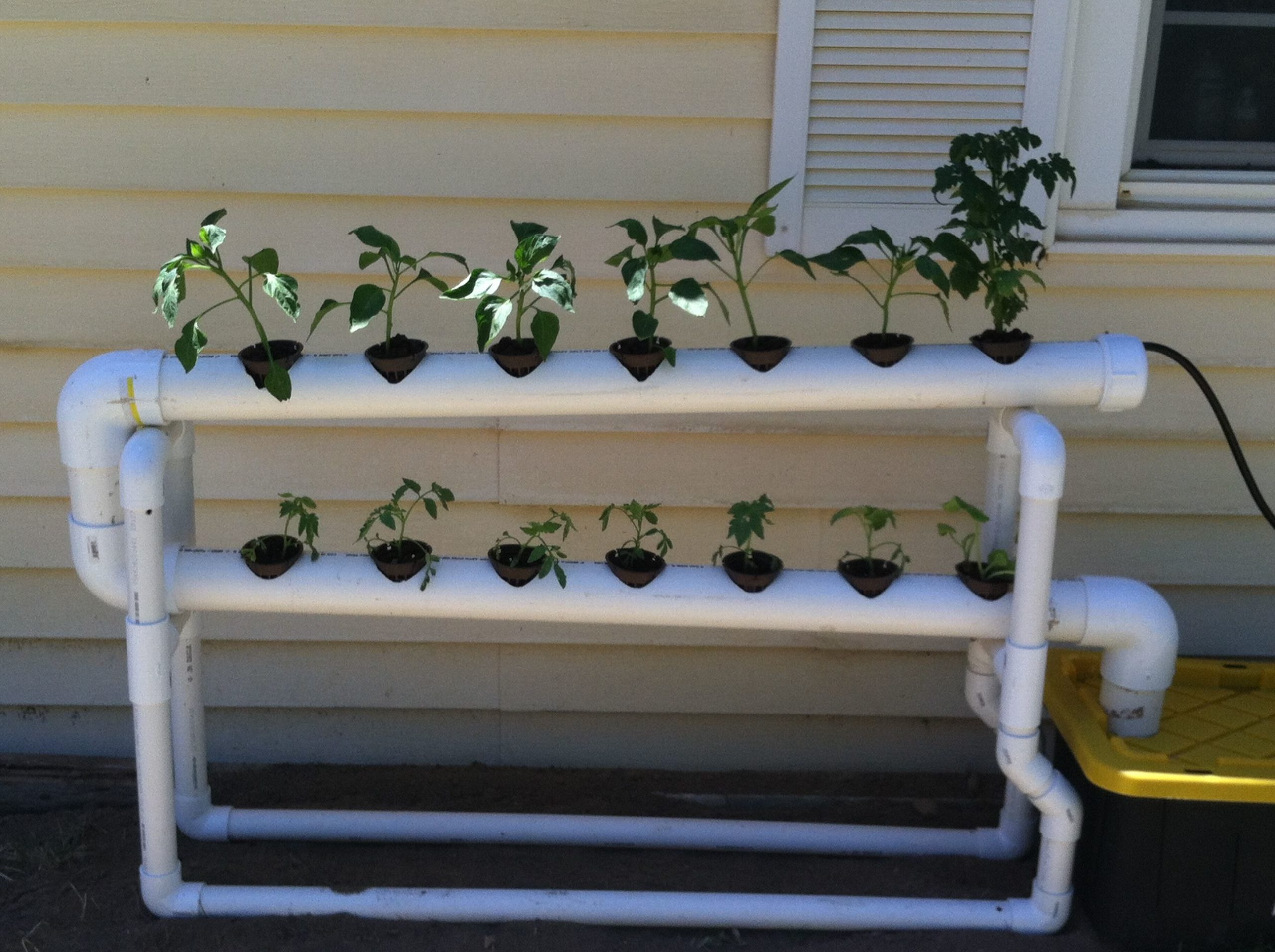 DIY Hydroponic systems How to make a indoor grow system