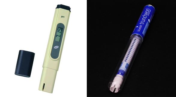 PH Meter and CF Truncheon